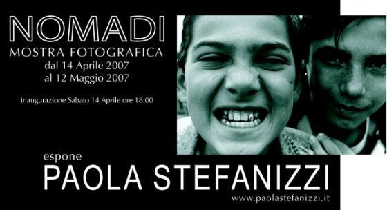 NOMADI - Paola Stefanizzi
