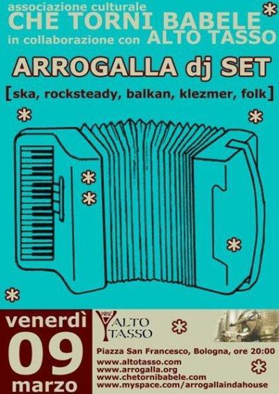 Arrogalla DJ Set - Che torni Babele